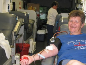 St. Monica's members give during our Annual Blood Drive